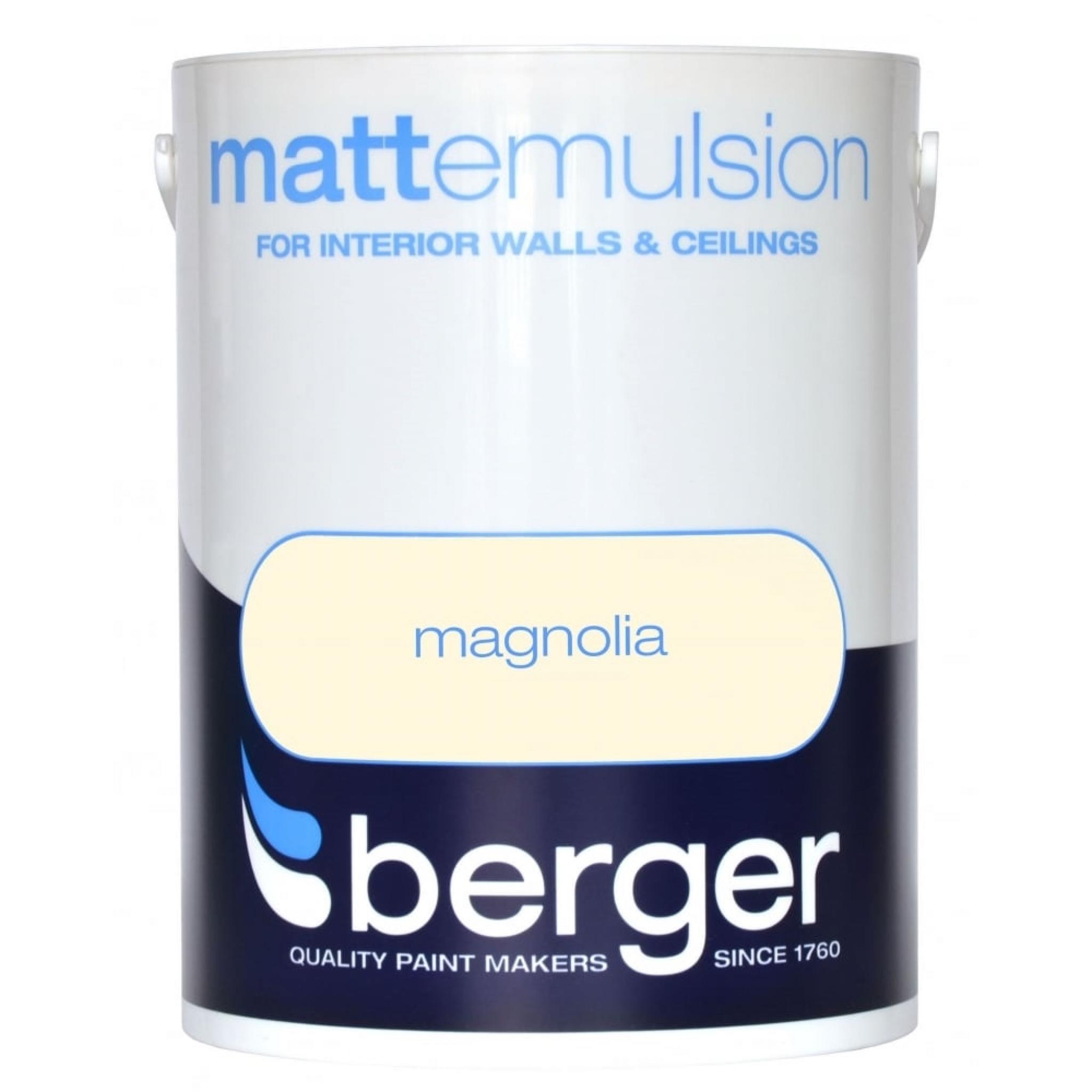 Berger Matt Emulsion Magnolia 5L