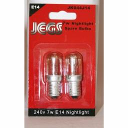 7W E14 Nightlight Spare Bulbs