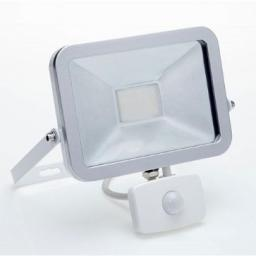 Floodlight Led 20W Pir White I1028W