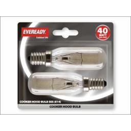 Evready S830 Cooker Hood Lamp 40W Ses X2 Bls