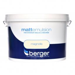 Berger Matt Emulsion Magnolia 10L