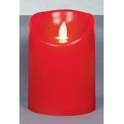 Dancing Flame Candle Battery Operated With Timer
