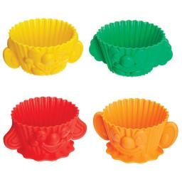 Cupcake Cases Smiley Faces Silicone
