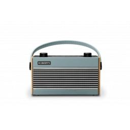 Roberts Rambler Portable Vintage/Retro Digital Radio with DAB/DAB+/FM RDS Wavebands - Blue