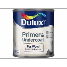 Dulux Qd Wood Primer/Undercoat 250Ml