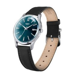 Watch Henry London Blue Dial Black Strap