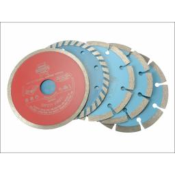 Faithfull Diamond Blade Set
