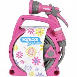 Hozelock Hose Reel Seasons Pink Pico