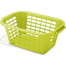 Rectangular Laundry Basket Lime