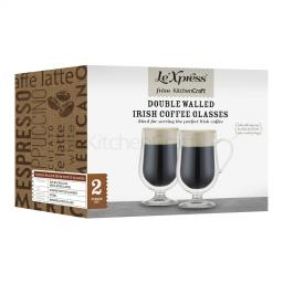 Glasses Irish Coffee Double Walled