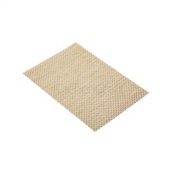 Placemat Woven Beige 8X8 Weave