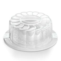Cake Holder And Carrier White