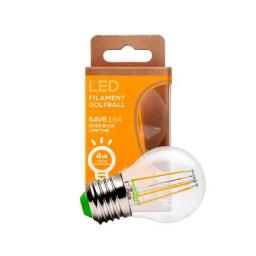 4W Es Led Round Non Dimmable Filament