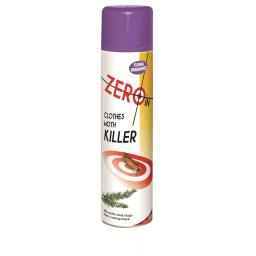 Zero In Clothes Moth Killer Spray with Floral Fragrance 300ml