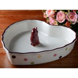 Ka Highland Fling Pie Dish & Funnel Set