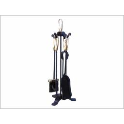 Manor 2125 Loop Companion Set Black/Brass