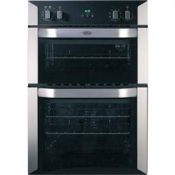 Belling BI90MF Built In Electric Double Oven - Stainless Steel - A/B Rated