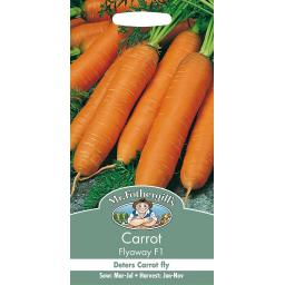 Mr Fothergills Carrot Flyaway Seeds