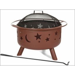 Landman 28335 Big Fire Moon & Stars Firepit P