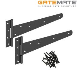 Light Tee Hinges 10""
