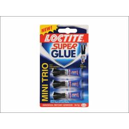 Loctite 1388487 Super Glue Mini Trio 3X1G