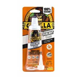 Gorilla Mould Resistant Sealant Clear Tube 80ml - 1144300