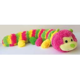 Neon Caterpillar Long Pile