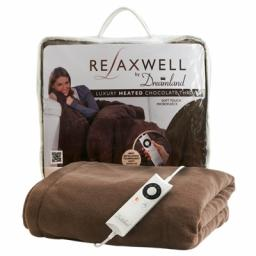 Heated Throw Chocolte Relaxwell