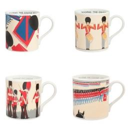 Underground Mug Trooping The Colour Set Of 4