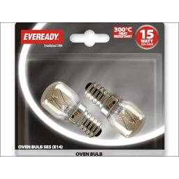Evready S1021 Oven Lamp 15W Ses X2 Bls
