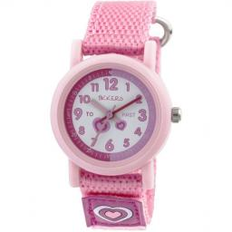 Watch Tikkers Pink Velcro Strap