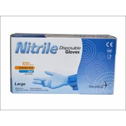Large Nitrile Gloves Box 100