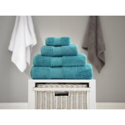 Bliss Teal Guest Towel
