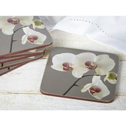 Creative Tops Orchid Harmony Pack Of 6 Premium Coasters