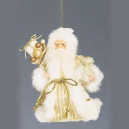 Santa Tree Topper Gold by Premier Decorations