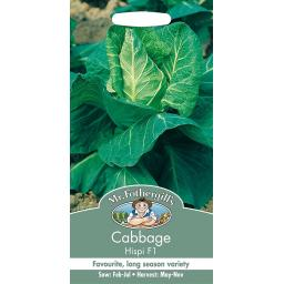 Cabbage Hispi F1