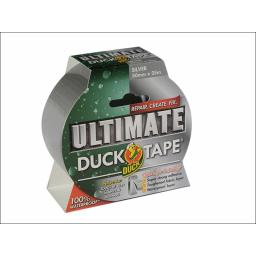 Duck Ultimate Tape Silver 50Mmx25M P