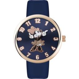 Watch Disney Minnie Rose Gold Blue Strap