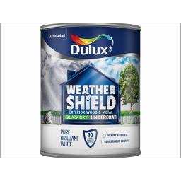 Weathershield Quick Dry Undercoat White 750Ml