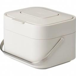 Joseph Joseph Stack 4 Food Waste Caddy - Stone