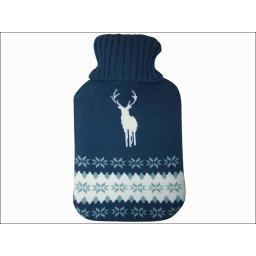 COZYWRM HOT WATER BOTTLE MENS KNITTED