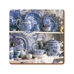 Creative Tops Blue and White China Coasters