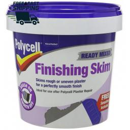 Polycell Finishing Skim Polyfilla 1L