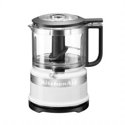 KitchenAid 5KFC3516BWH Classic Mini Food Processor - 0.83 Litre - White