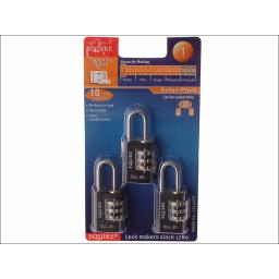 Squire Luggage Lock Cll20Tr