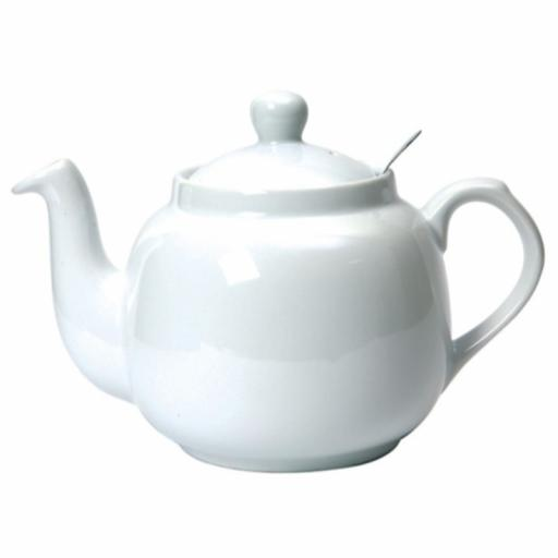 Teapot Farmhouse White Filter