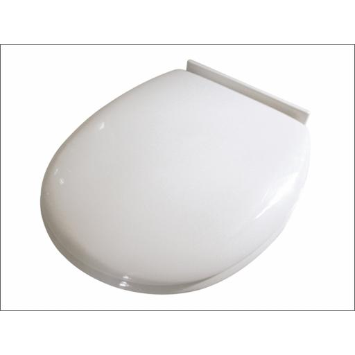 Croydex Slow-Close Toilet Seat White