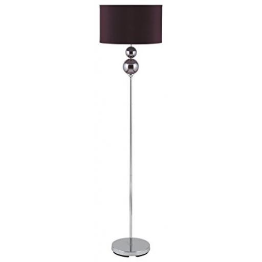 Floor Lamp Purple 2 Ball Ceramic