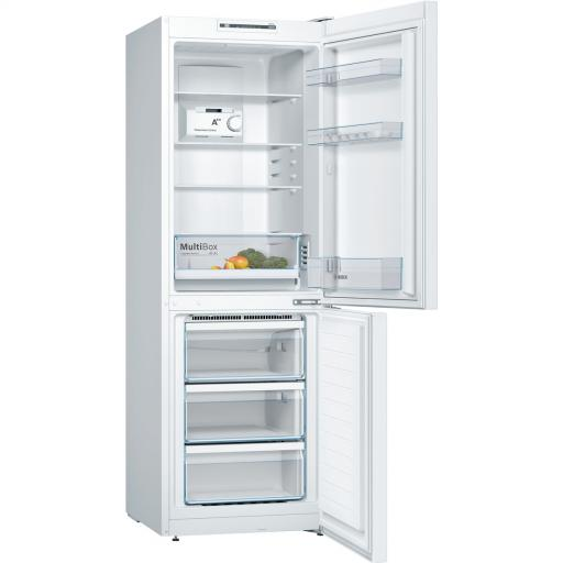 Bosch KGN33NW3AG 60cm Frost Free Fridge Freezer - White - A++ Rated