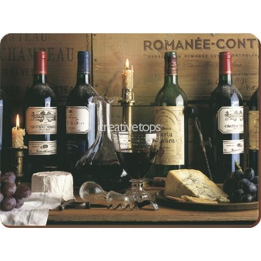 Creative Tops Vintage Wine Pack Of 6 Premium Placemats
